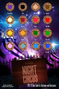 Night circus-colros