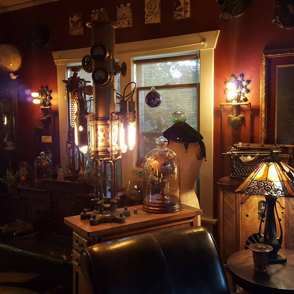 21 august 2015 airship ambassador for Steampunk living room ideas